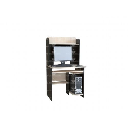 Стол компьютерный КЛ № 5,5, ЛДСП Венге/Дуб молочный