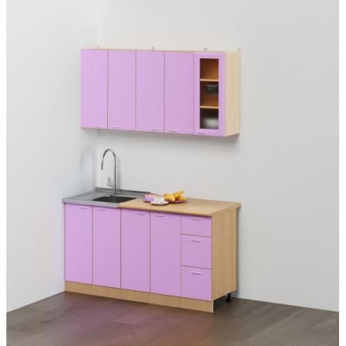 "Кухонный гарнитур ""Эконом №2"",1.5 м Фиолетовый"